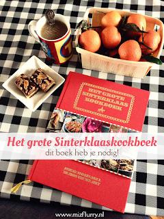 Ik vind Het grote Sinterklaaskookboek geweldig! Klassieke Sinterklaasrecepten, moderne variaties, maar ook Spaanse en hartige recepten; eigenlijk kun je dit boek het hele jaar gebruiken en niet alleen in december.