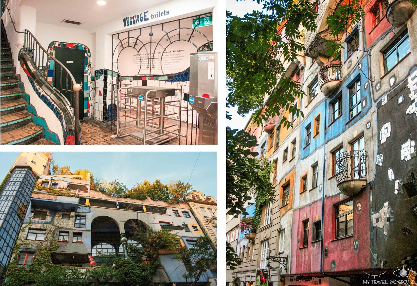 My Travel Background : visiter Vienne, la capitale de l'Autriche, en 3 jours - Hundertwasserhaus