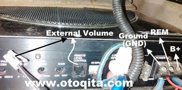 Power Ampli Audio Mobil