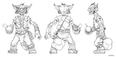 THE ART OF JIM NELSON: Goblins! Part 1