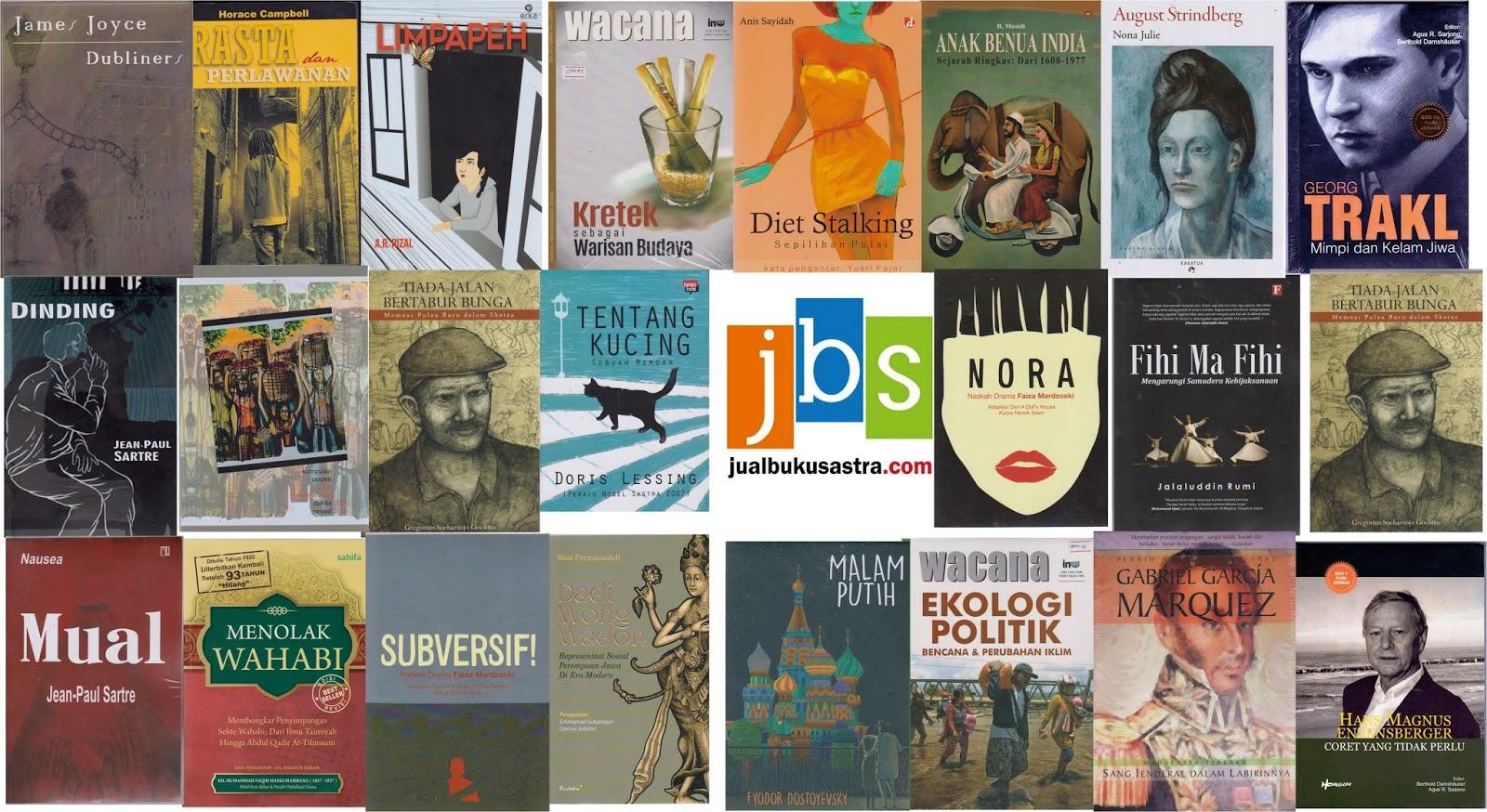 Jualan Buku Sastra Katalog Sastra Nonsastra Bulan April 2017