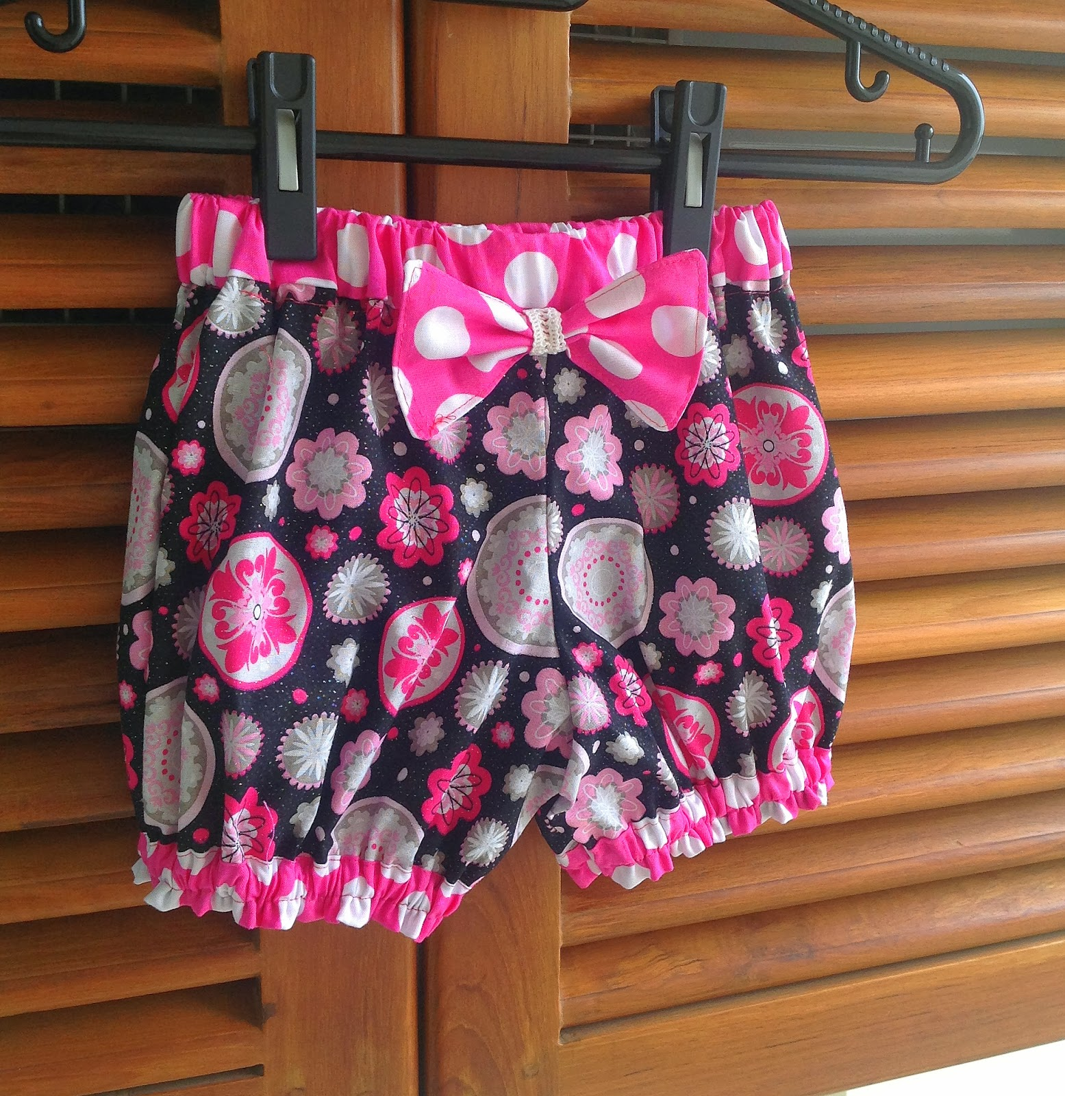 Sewing Patterns for Girls Dresses and Skirts: Bubble Shorts Sewing ...