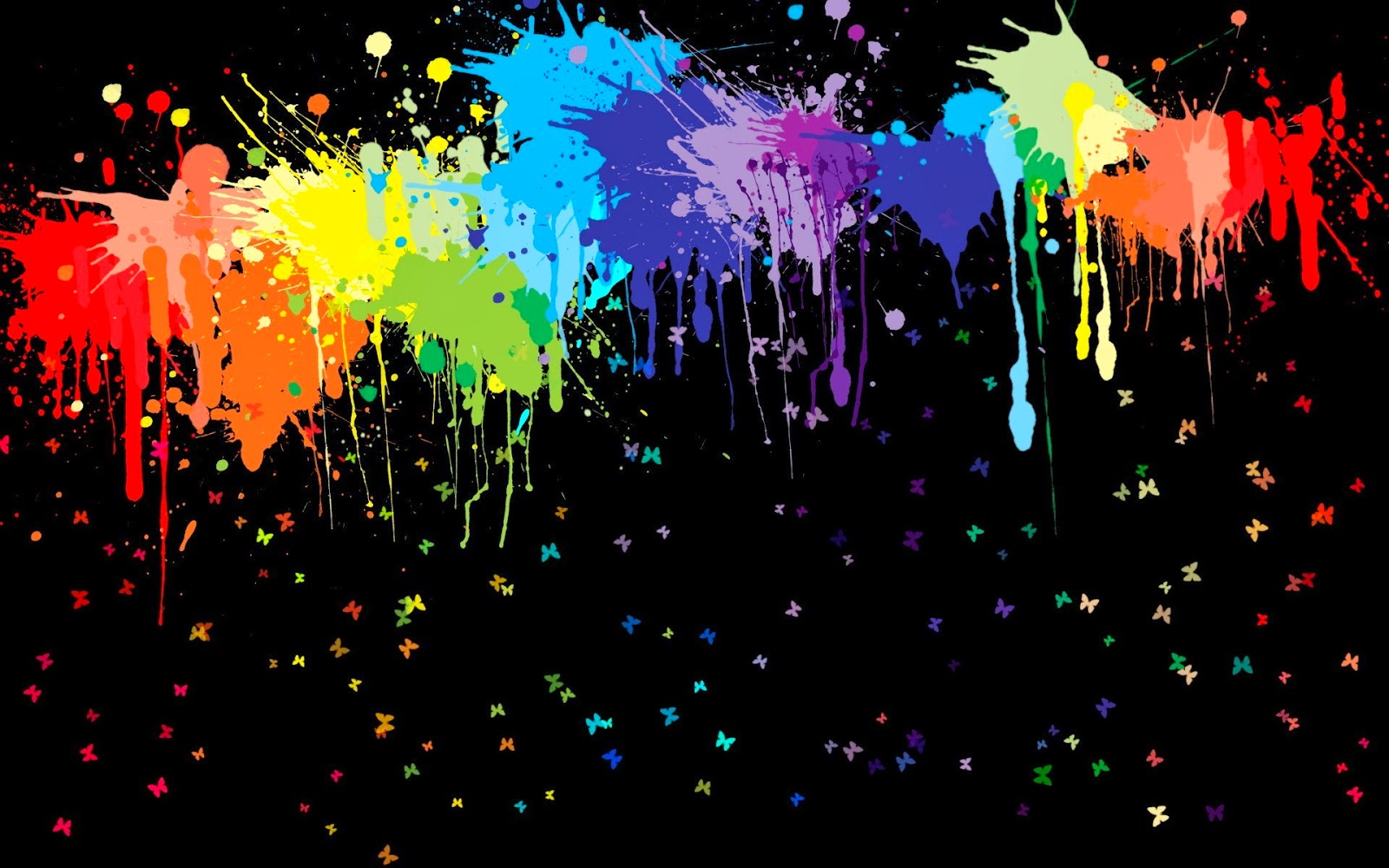 Colorful Paint Abstract Wallpapers Photo