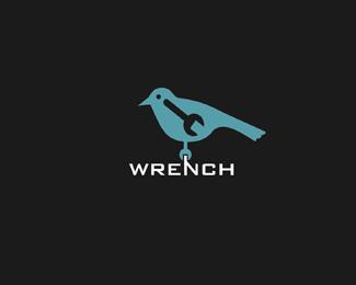 Logotipo inspirado en pajaro