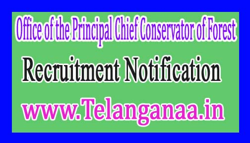 Office of the Principal Chief Conservator of ForestGovernment of Assam Recruitment Notification 2017