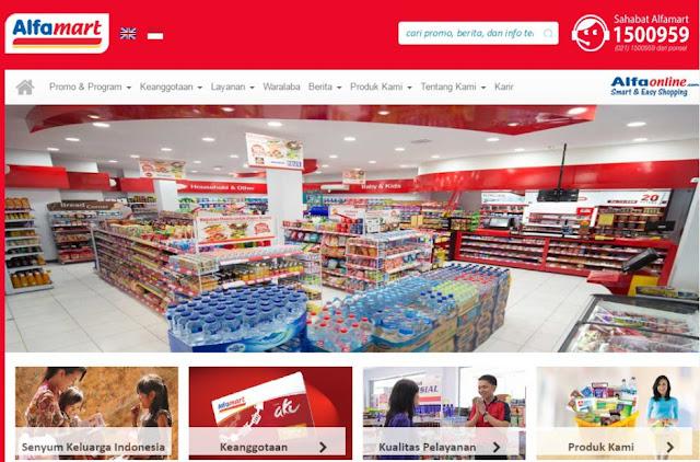 Temukan Informasi Belanja Menarik di Website Resmi Alfamart