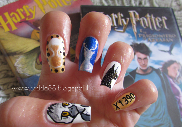 Harry Potter and the prisoner Azkaban nail art