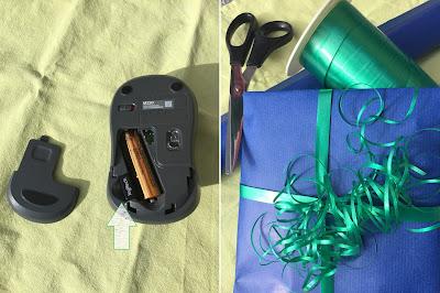 Computer Maus und Geschenk