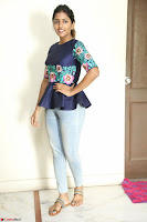 Eesha Looks super cute stunning in Denim Jeans and Top at Darsakudu movie Inerview ~  Exclusive 009.JPG