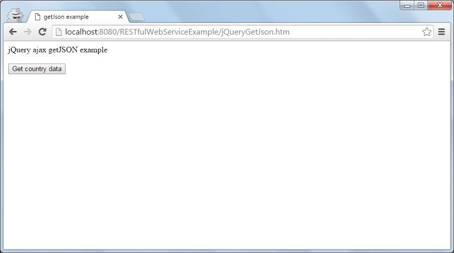 Jquery Ajax Getjson Example Java2blog