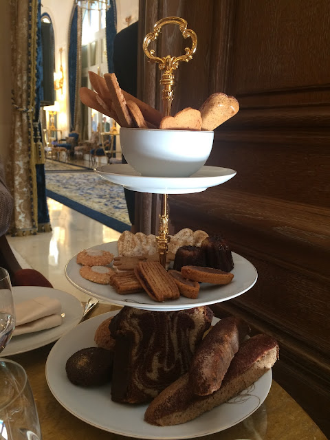 Afternoon tea at the Salon Proust, Ritz Paris