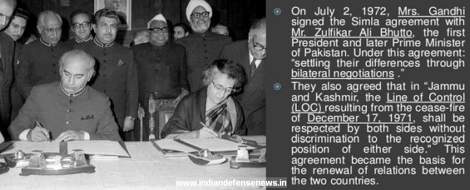 Why the 1972 shimla accord was a disaster indian defence news prime minister indira gandhi signing shimla agreement with pakistan pm zulfikar ali bhutto platinumwayz