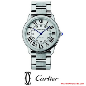 Kate Middleton style CARTIER Ballon Bleu Watch