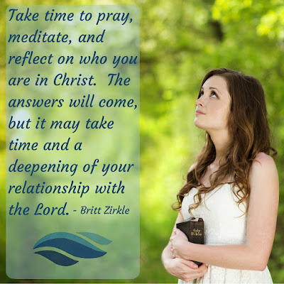 The answers will come, but it may take time and a deepening of your relationship with the Lord.