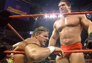 WWE / WWF - Summerslam 1997 - Ken Shamrock vs.WWF European Champion British Bulldog