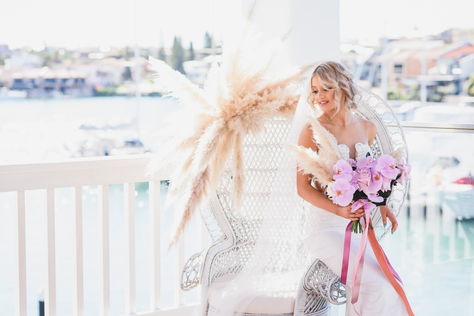 STYLED: LUXE FLORALS | SEASIDE WEDDING EDITORIAL PERTH WA