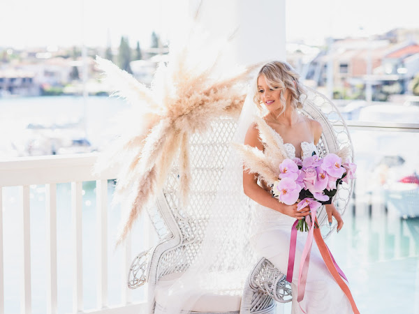 ➳ LUXE FLORALS | STYLED SHOOT BY THE SEASIDE { PERTH }