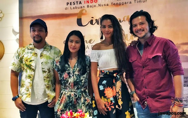 """""""Pesta Indonesia Merdeka"""" bersama pemain film Labuan Hati"""