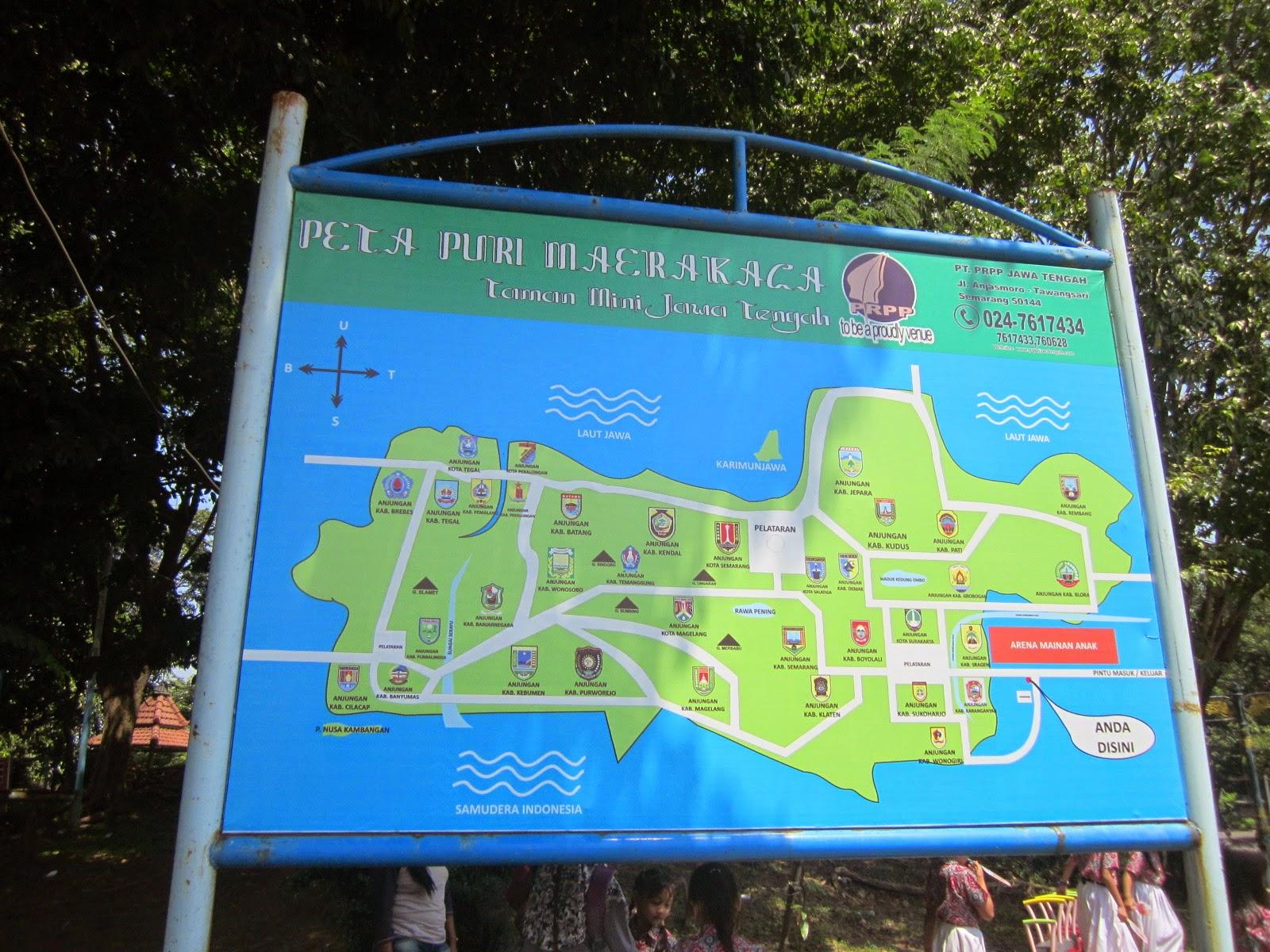 Puri Maerakaca Taman Mini Jawa Tengah Terhitsss Di Semarang Cakrawala Tour Wisata