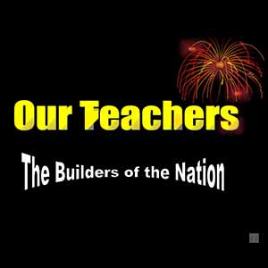 Recognizing teachers as nation builders