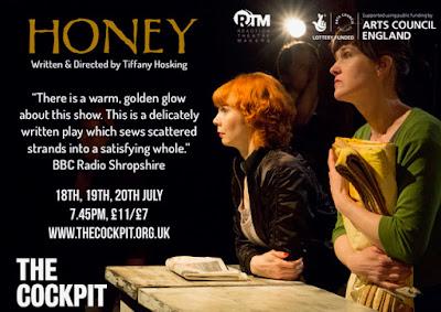 Theatre Review: Honey - The Cockpit, London ✭✭✭