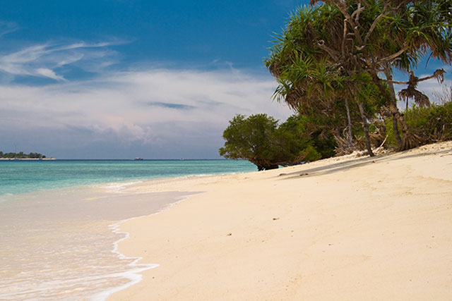 s too it is the quietest amongst fewer tourists BestplacetovisitinIndonesia; Gili Meno