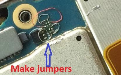 How to repair blackberry passport keypads jumper