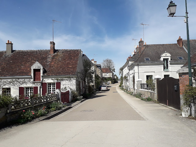 houses in Chedigny in the Loire Valley
