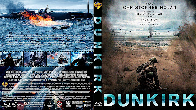 Dunkirk Bluray Cover