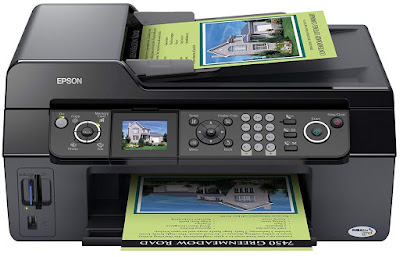 F Multifunction device amongst fax business office Epson Stylus DX9400F Driver Downloads