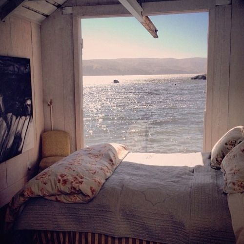 White Bedroom The Most Dreamy View