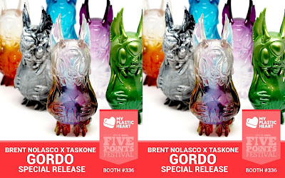 Five Points Festival 2018 Exclusive Gordo Resin Figure by Brent Nolasco x TaskOne x myplasticheart