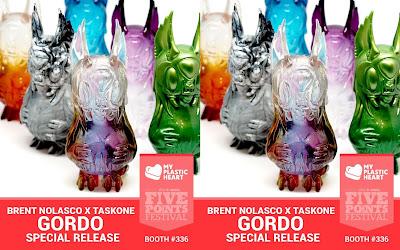 Five Points Festival 2018 Exclusive Gordo Resin Figure by Brent Nolasco x TaskOne x myplasticheart