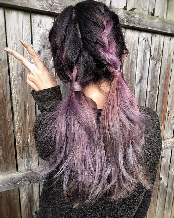 Moda cabellos peinados recogidos con dos trenzas 2016 - Peinados recogidos con trenzas ...