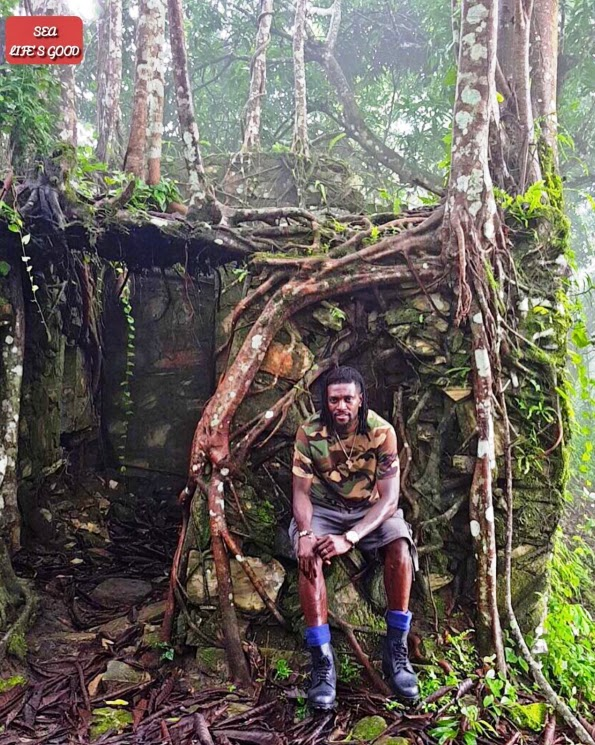 New Photo of Footballer Emmanuel Adebayor Camo life in Beautiful Kpalime