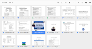 Berkas berkas dan Laporan OJL 2015 Lengkap