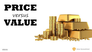 Mencari nilai suatu saham