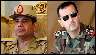 Risultati immagini per egitto a fianco di Assad