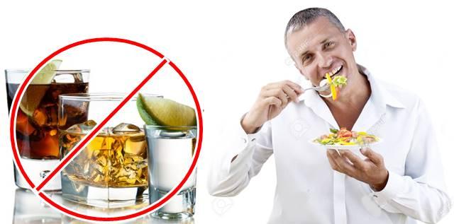Las bebidas alcohólicas no deben acompañar tus comidas