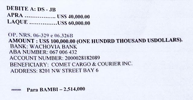 Aporte ilegal de 100 mil dólares al Apra de Odebrecht