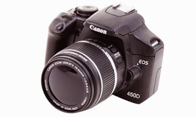 Harga Kamera DSLR Canon EOS 450D dan Spesifikasi