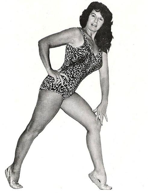 Anne Casey-Barefoot Women Wrestlers