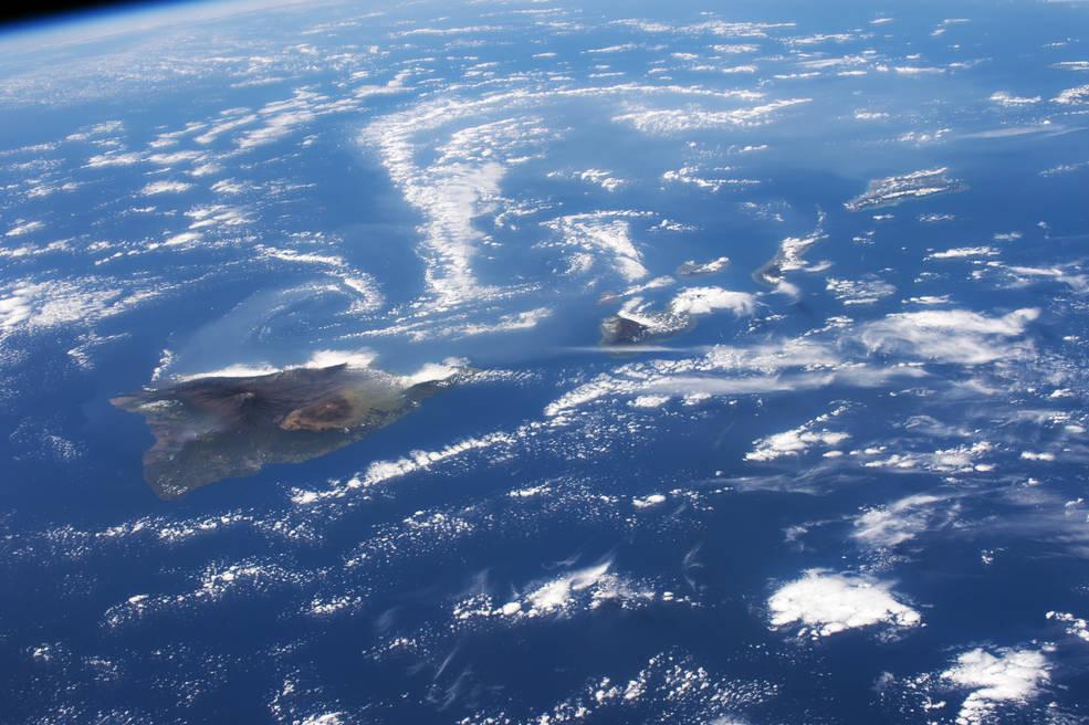 Foto HP dari Astronot