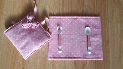 DIY baby placemat - with tutorial