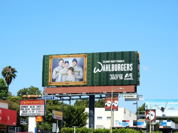 Wahlburgers season 4 billboard