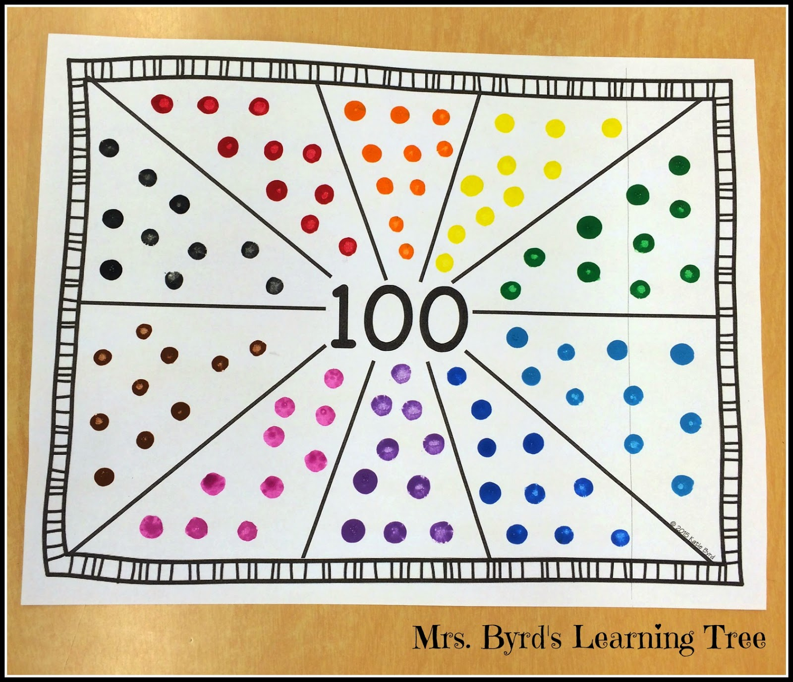 Mrs Byrd S Learning Tree 100 Days Of School