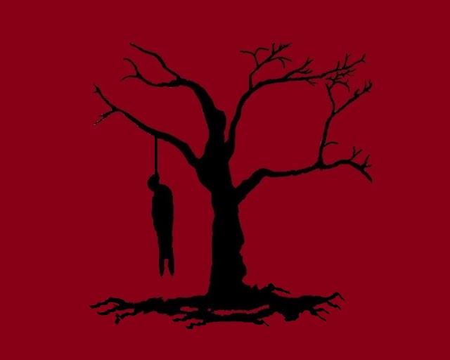 Mujer se suicida colgándose de un árbol