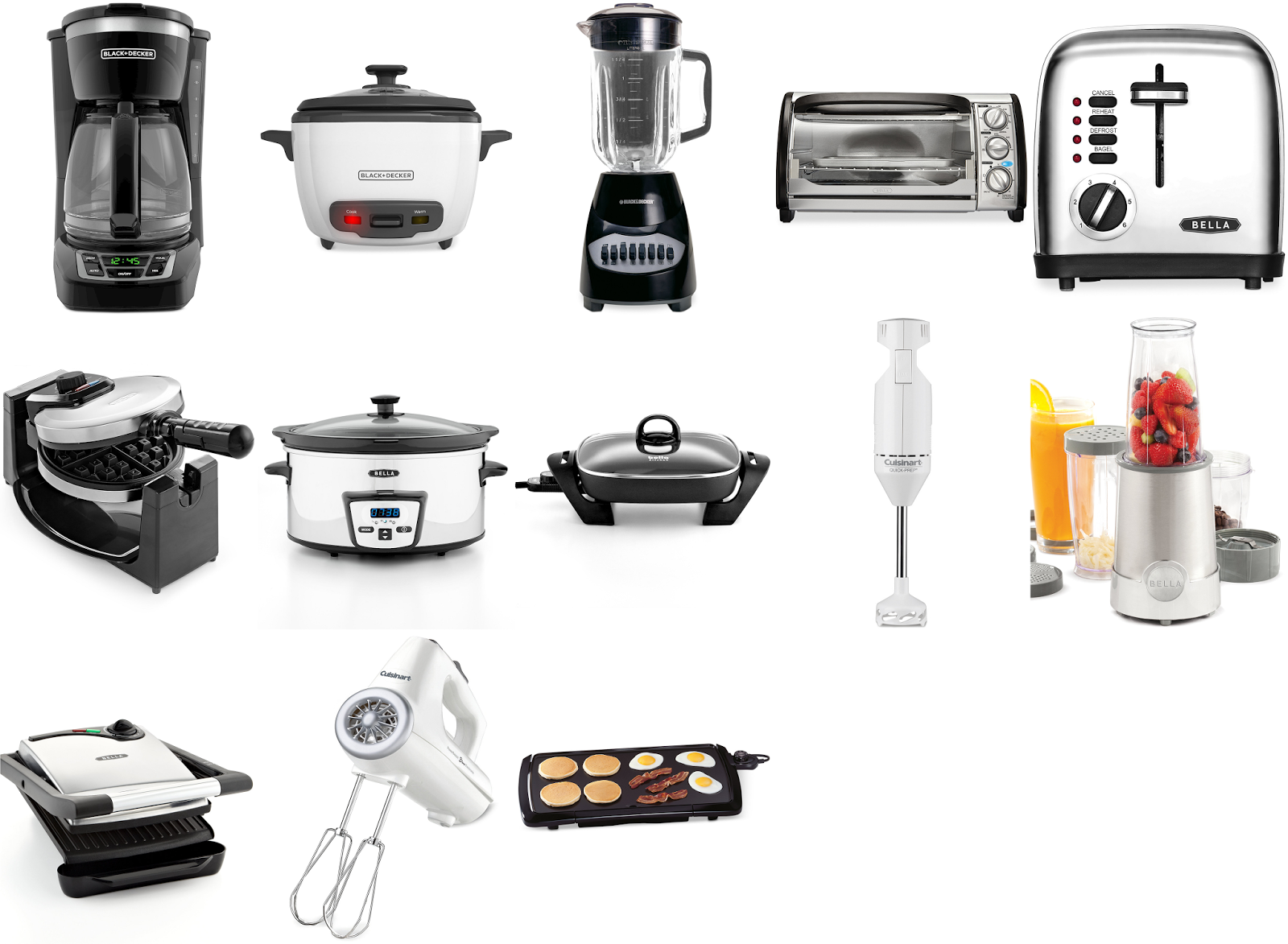 Macys: $7.99 After $12 MailinRebate Small Kitchen Appliances!  qpanion