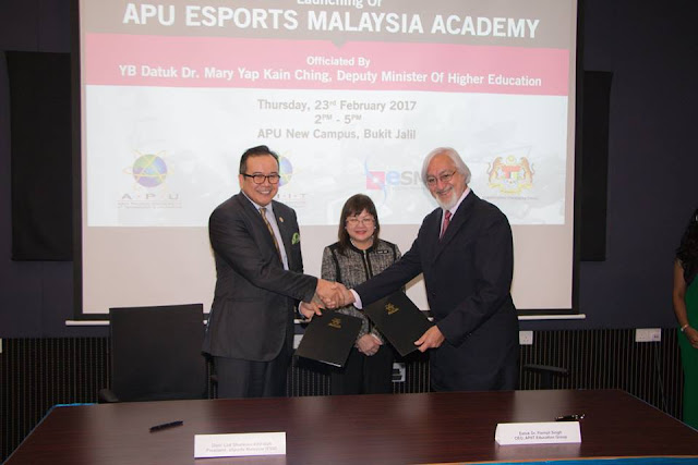 APU and Esports Malaysia