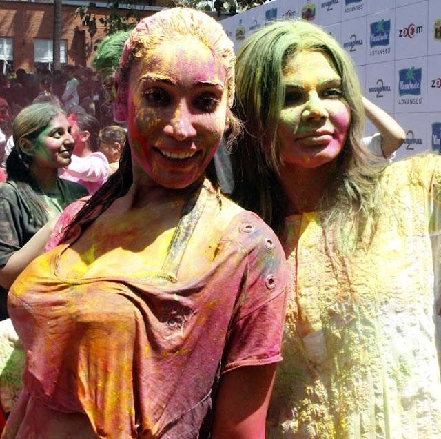 Bollywood actress s  holi pics